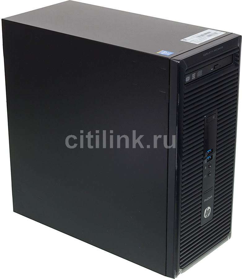 Компьютер  HP ProDesk 400 G2,  Intel  Core i7  4790s,  DDR3 4Гб, 500Гб,  Intel HD Graphics 4600,  DVD-RW,  Free DOS,  черный [k3r68ea]