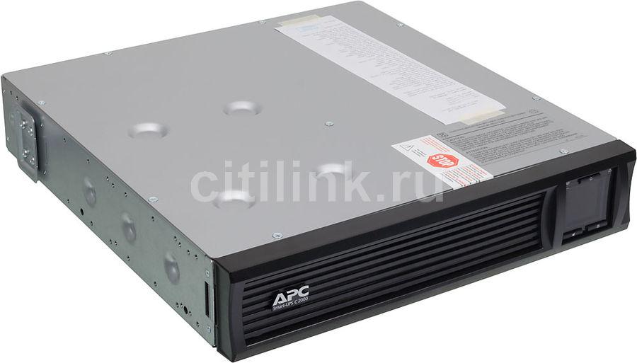 Источник бесперебойного питания APC Smart-UPS C SMC2000I-2U,  2000ВA
