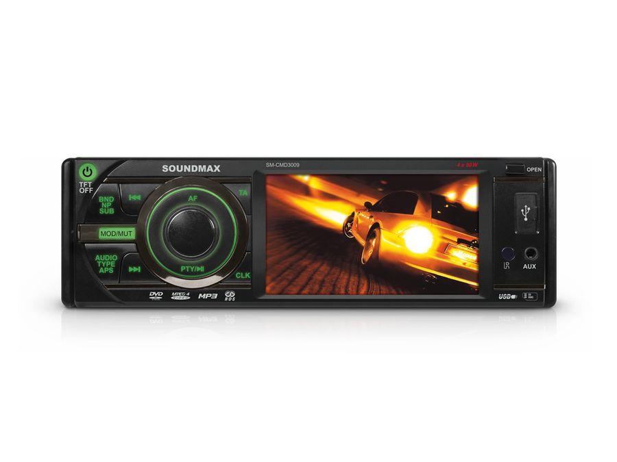 Автомагнитола SOUNDMAX SM-CMD3009,  USB,  SD/MMC