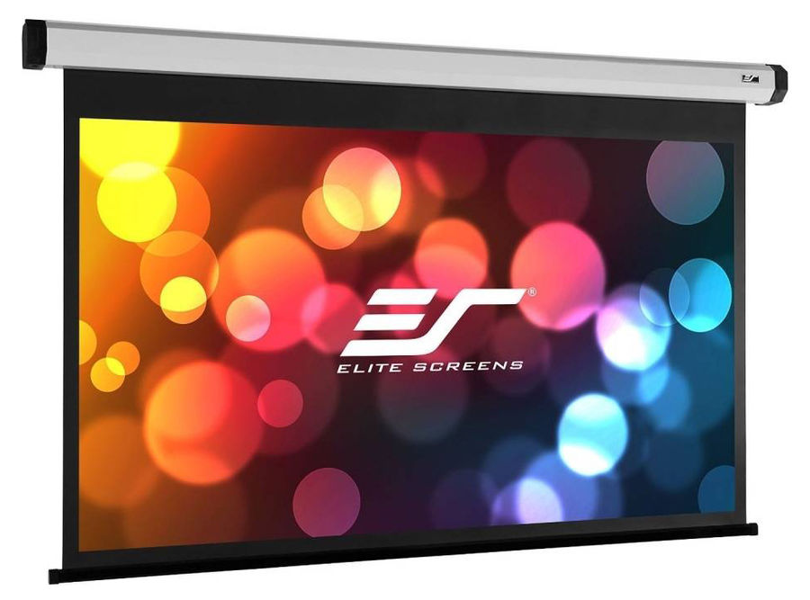 Экран ELITE SCREENS Spectrum Electric110XH, 243.8х137.2 см, 16:9, настенно-потолочный черный affordable 1080p cinema projector screen acoustically transparent fabric 135inch 16 to 9 fixed frame screens