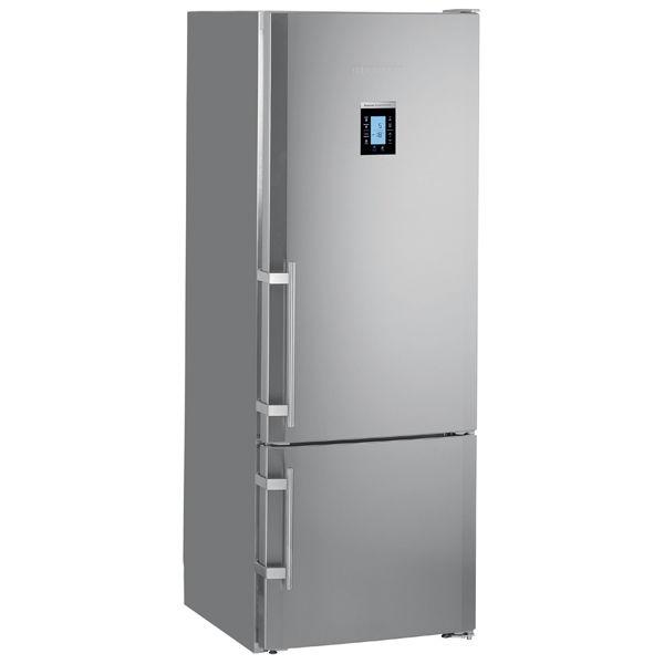 Холодильник LIEBHERR CBNPes 4656,  двухкамерный,  серебристый