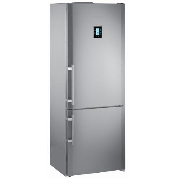 Холодильник LIEBHERR CNPes 5156,  двухкамерный, нержавеющая сталь
