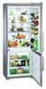 Холодильник LIEBHERR CNPes 5156,  двухкамерный, нержавеющая сталь вид 5