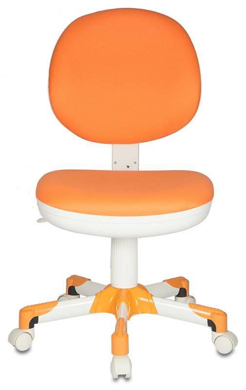 Кресло БЮРОКРАТ CH-W357, на колесиках, ткань, оранжевый [ch-w357/15-75]