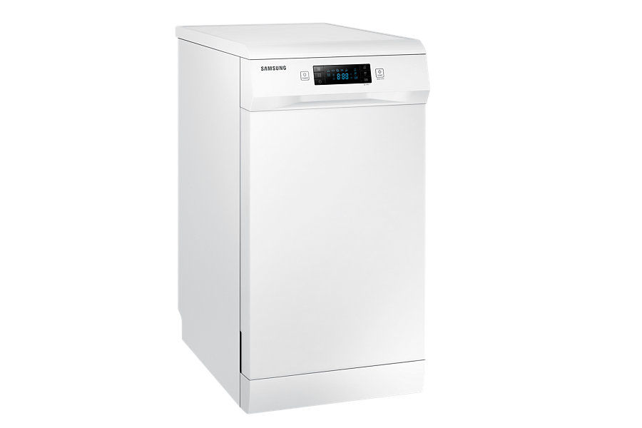Посудомоечная машина SAMSUNG DW50H4030FW,  узкая, белая [dw50h4030fw/wt]