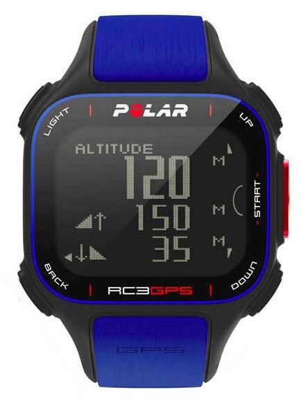 Часы-пульсометр Polar RC3 синий [90050618]