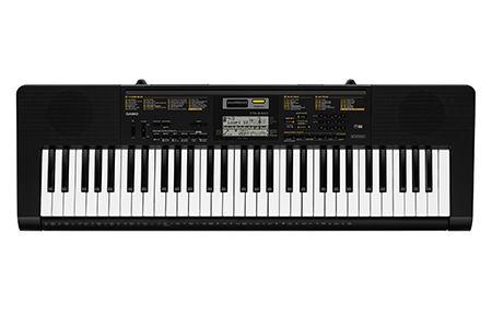 Синтезатор CASIO CTK-2400, 61, невзвешенная, полноразмерные, 48, черный