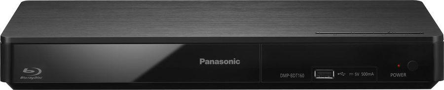 Плеер Blu-ray PANASONIC DMP-BDT160EE, серебристый
