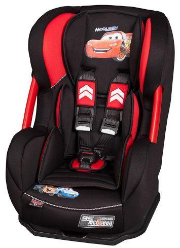 Автокресло детское NANIA Disney Cosmo SP LX (cars), 0+/1, красный/черный [088910]