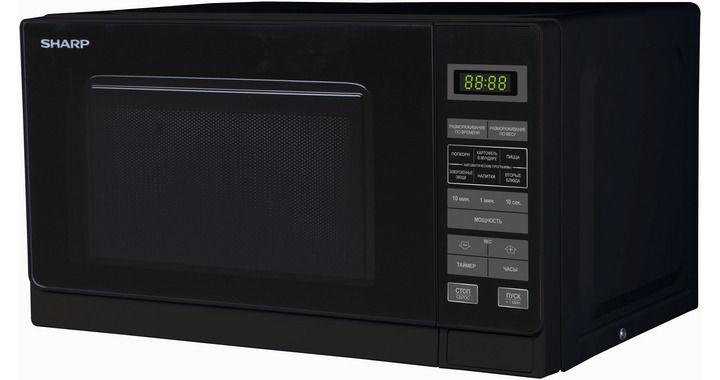 Микроволновая печь SHARP R-2772RK, черный