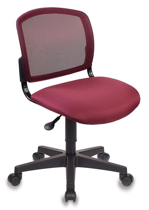 Кресло БЮРОКРАТ CH-296NX, на колесиках, ткань, бордовый [ch-296/dc/15-11]