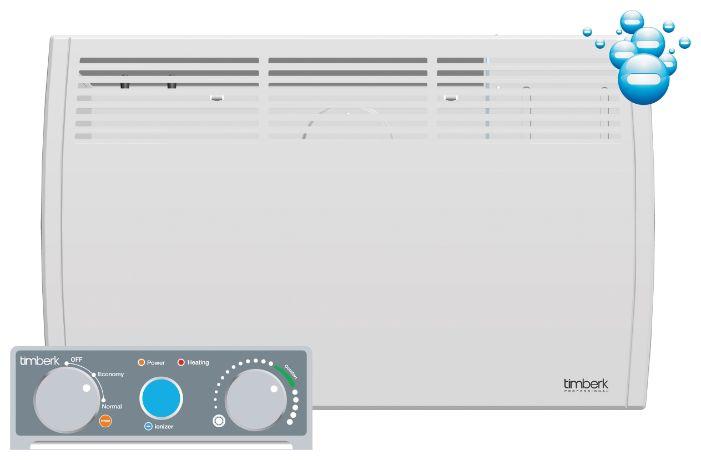 Конвектор TIMBERK TEC.PS1,  1000Вт,  белый