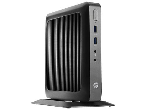Тонкий Клиент  HP Flexible t520,  AMD  GX-212JC,  DDR3L 4Гб, 16Гб(SSD),  AMD Radeon HD,  Windows Embedded Standard 7,  черный [g9f08aa]