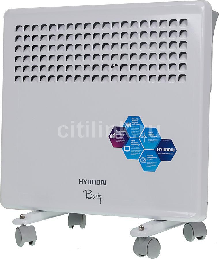 Конвектор HYUNDAI Basiq H-HV8-10-UI583,  1000Вт,  белый