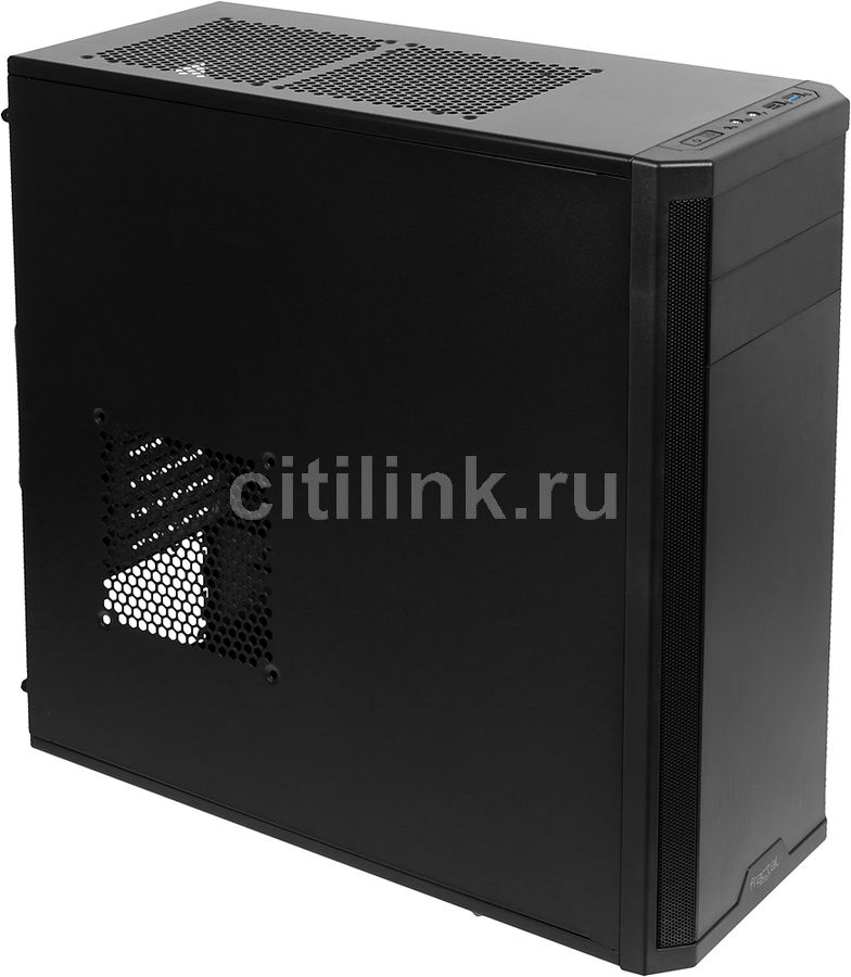 Корпус ATX FRACTAL DESIGN Core 2300, Midi-Tower, без БП,  черный