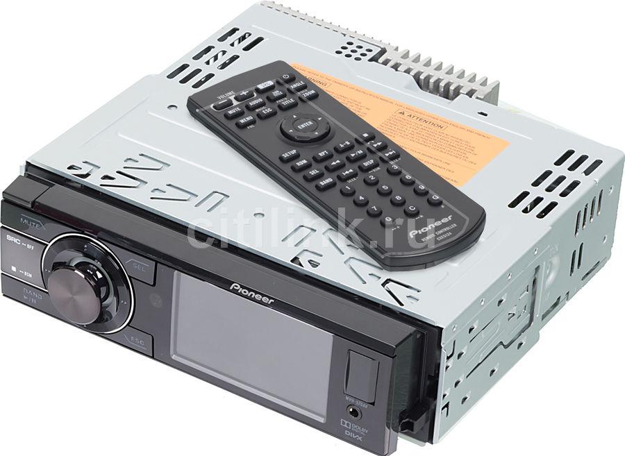 Автомагнитола PIONEER MVH-570AV,  USB