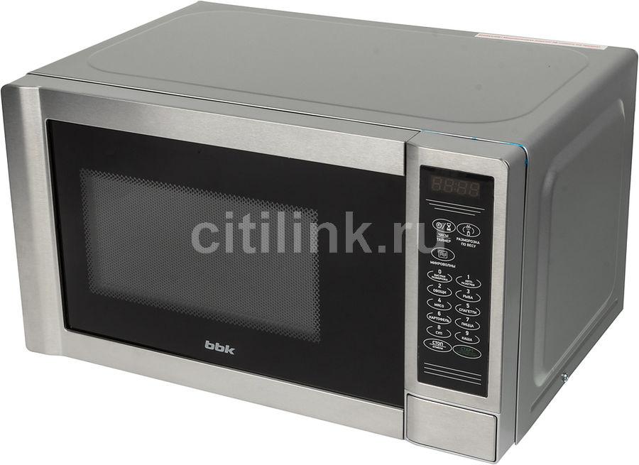 Микроволновая печь BBK 20MWS-725S/BX, серебристый