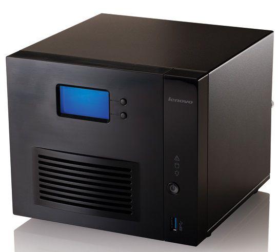 Сетевое хранилище LENOVO IX4-300d,  без дисков [70b89003ea]