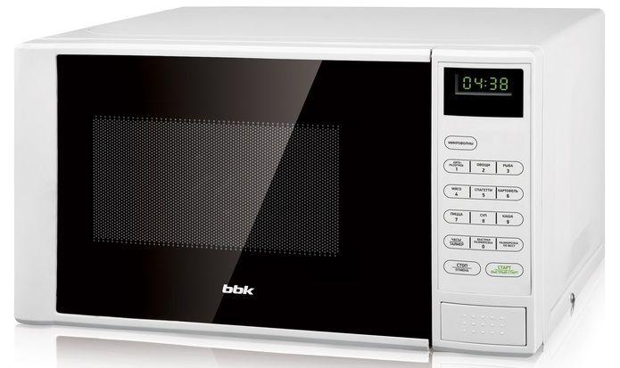 Микроволновая печь BBK 20MWS-728S/W, белый