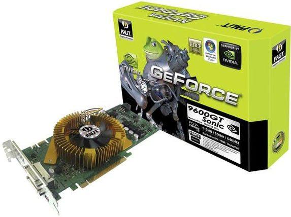 Видеокарта PALIT GeForce 9600 GT,  1Гб, DDR3, Ret [xne/960tsx02021]