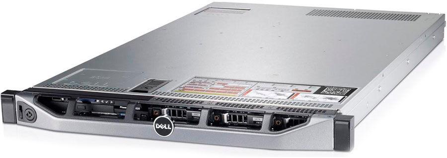 "Сервер Dell PowerEdge R320 1xE5-2407v2 1x8Gb 1RLVRD x4 3.5"" RW H310 iD7En 2xGigabit Ethernet 1x350W [210-accx-10]"