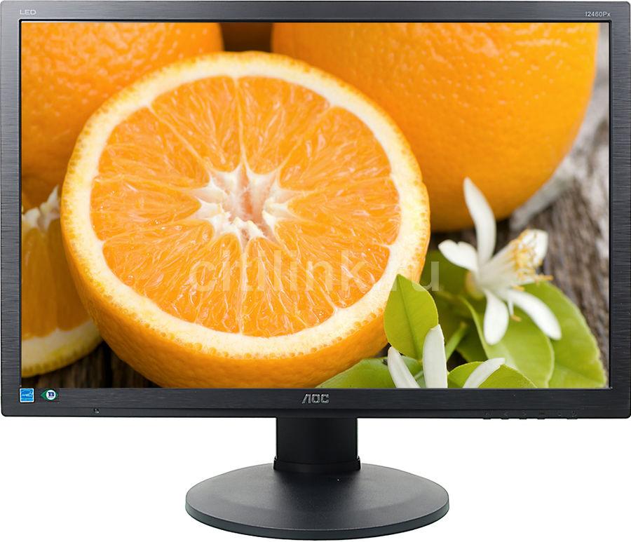 """Монитор AOC Professional i2460Pxqu(00/01) 24"""", черный"""