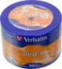 Оптический диск DVD-R VERBATIM 4.7Гб 16x, 50шт., 43731, cake box вид 1