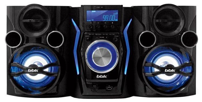 Музыкальный центр BBK AMS110BT,  черный [(ha) dvd мини ams110bt ч/т-син]
