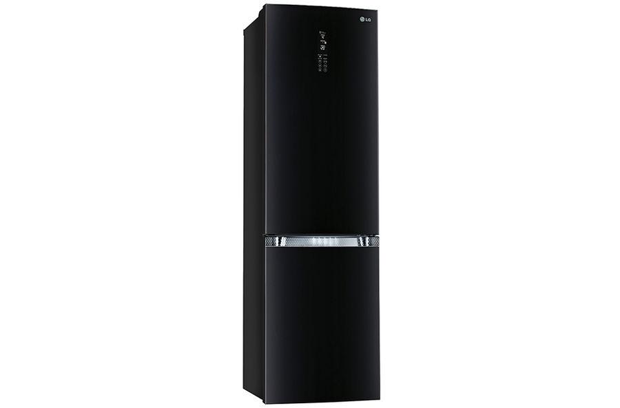 Холодильник LG GA-B489TGBM,  двухкамерный,  черный