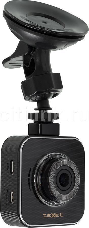 Видеорегистратор TEXET DVR-650W черный