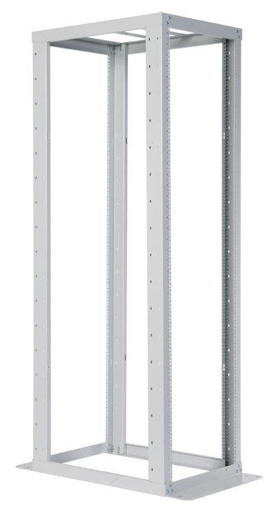 Стойка двухрамная ЦМО (СТК-С-45.2.750) 45U 560ммX1035мм направл.закл.гайки 430кг серый