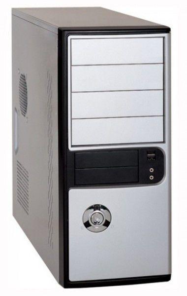 Корпус ATX FOXCONN TLA-486, 500Вт,  черный