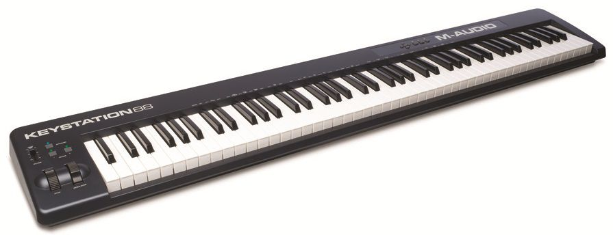 Клавиатура MIDI M-Audio Keystation 88 II клав.:88 корпус:пластик темно-синий