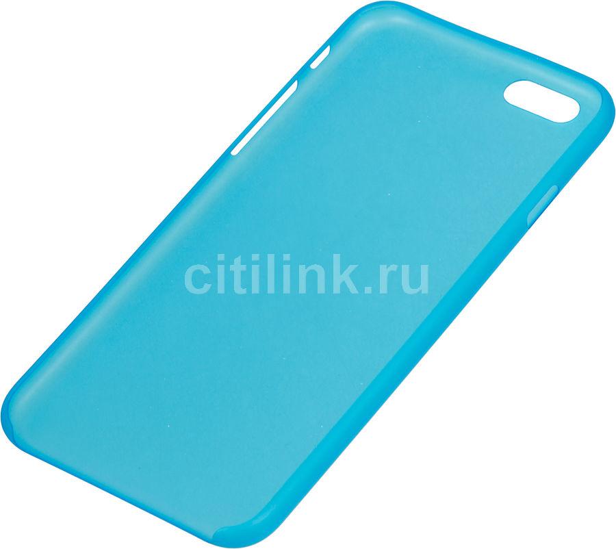 Чехол (клип-кейс) HAMA Ultra Slim, 00135009, для Apple iPhone 6, синий