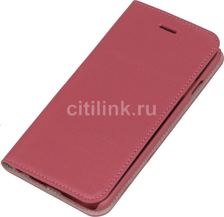 Чехол (флип-кейс) HAMA Slim, для Apple iPhone 6, розовый [00135016]