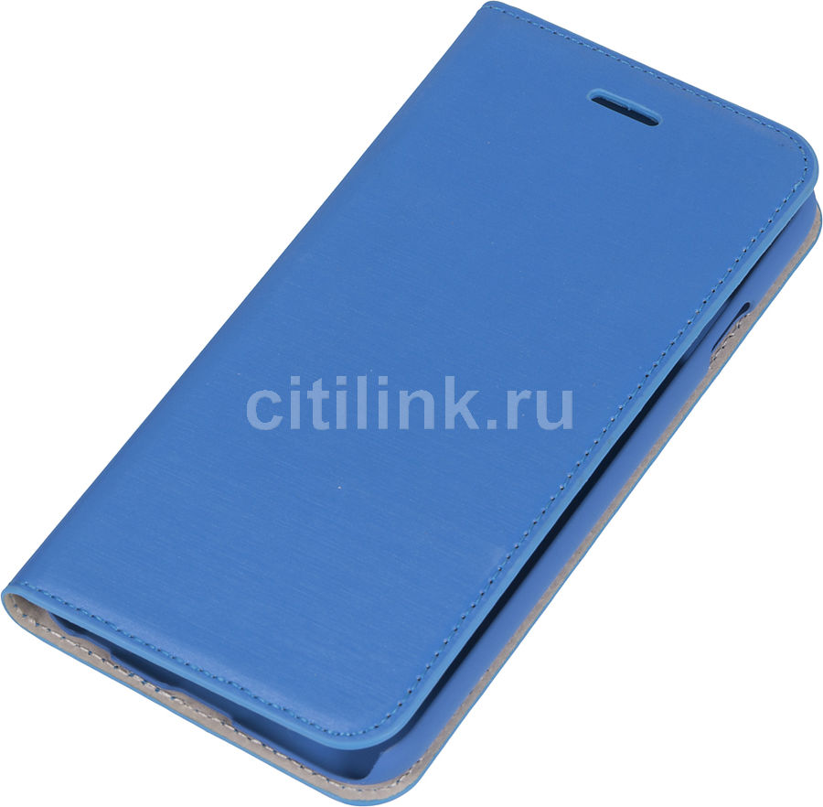 Чехол (флип-кейс) HAMA Slim, для Apple iPhone 6, синий [135018]