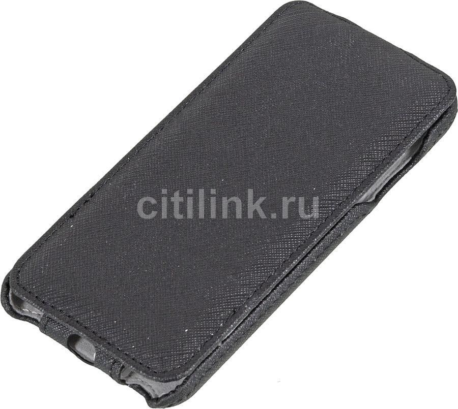 Чехол (флип-кейс) HAMA Flap, для Apple iPhone 6, черный [135019]