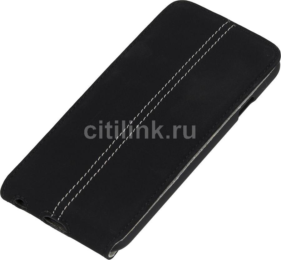 Чехол (клип-кейс) HAMA для Apple iPhone 6, черный [00135021]