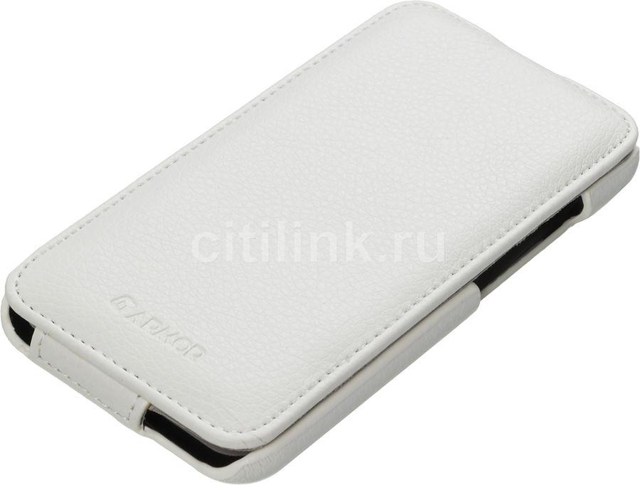 Чехол (флип-кейс) ARMOR-X flip full, для HTC Desire 616 dual sim, белый