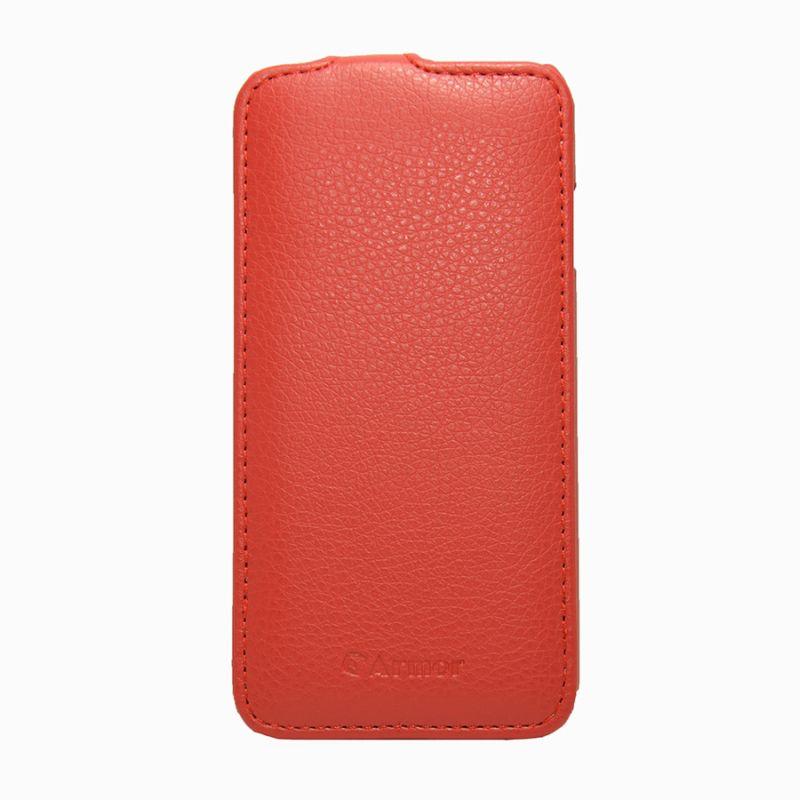 Чехол (флип-кейс) ARMOR-X flip full, для Apple iPhone 6, красный