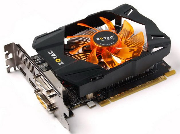 Видеокарта ZOTAC GeForce GTX 650 Synergy,  ZT-61010-10B,  2Гб, GDDR5, oem