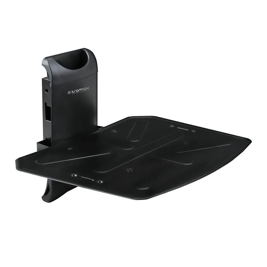 Кронштейн-подставка KROMAX Steel-Mono,   для DVD и AV систем,  8кг,  черный