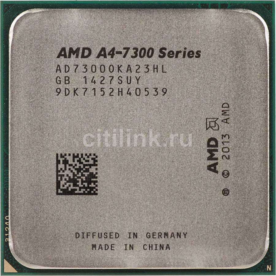 Процессор AMD A4 7300, SocketFM2 OEM [ad7300oka23hl]