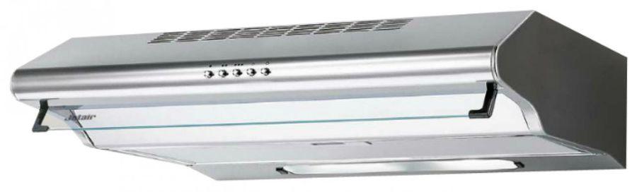 Вытяжка козырьковая Jet Air Sunny 60 1M INX нержавеющая сталь управление: кнопочное (1 мотор)
