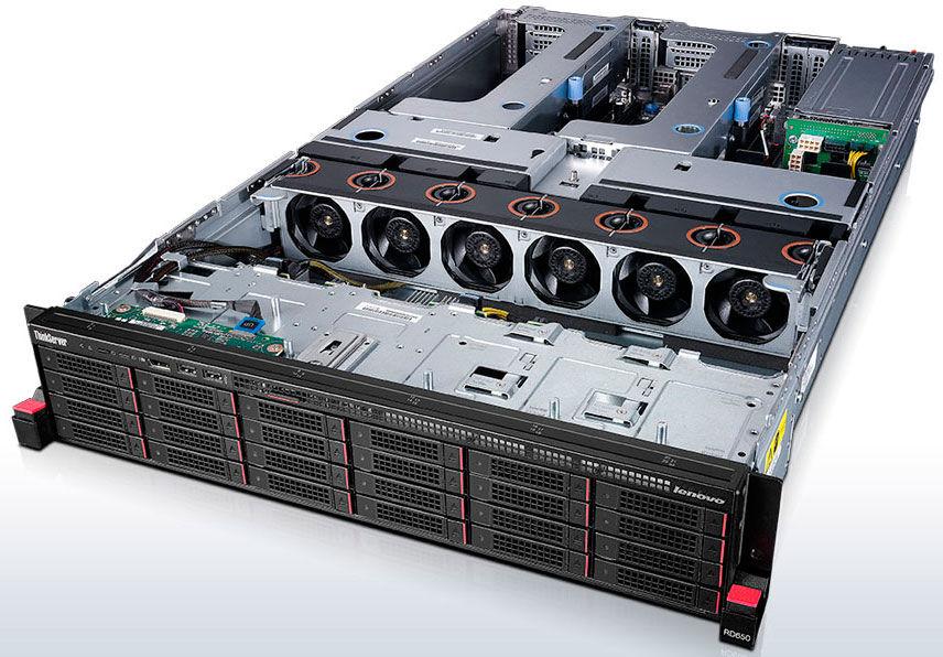 Сервер Lenovo ThinkServer RD650 1xE5-2603v3 1x8Gb x9 3.5