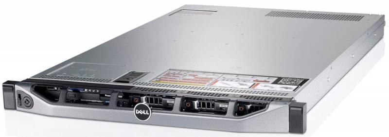 Сервер Dell PowerEdge R620 2xE5-2640v2 1x750W DRW H710 PNBD3Y /BR5720/NO MEM (210-39504-142) [210-39504-158]