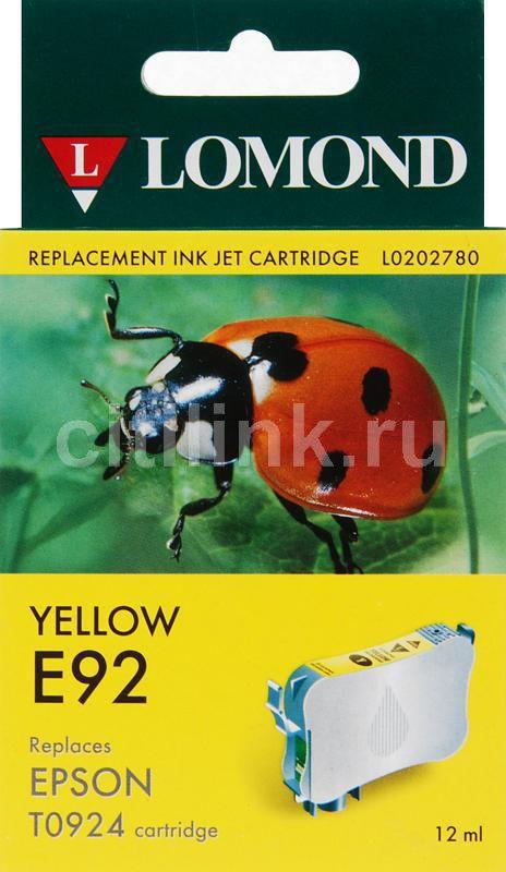 Картридж LOMOND T0924 желтый [l0202780]