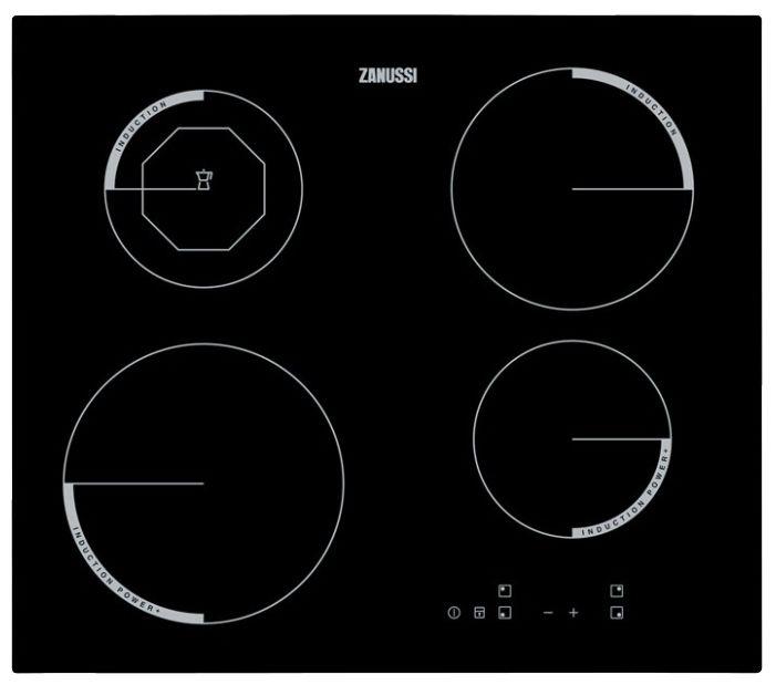 Варочная панель ZANUSSI ZEI 5680 FB,  индукционная,  независимая,  черный