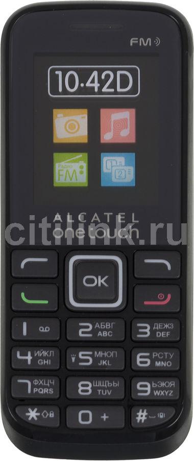 Мобильный телефон ALCATEL 1042D,  черный
