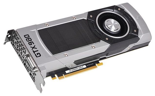 Видеокарта GIGABYTE GeForce GTX 980,  4Гб, GDDR5, Ret [gv-n980d5-4gd-b]